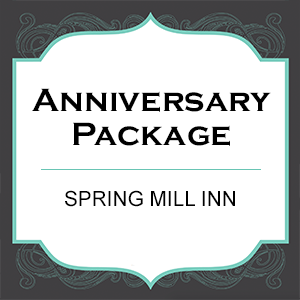 Spring Mill State Park, Anniversary Package, Overnight Stay, Spring Mill Inn
