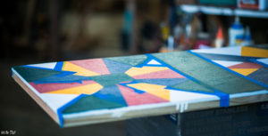 Barn Quilt Trail, Quilt Square, Painting