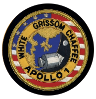 Virgil I Gus Grissom, Apollo I, Badge