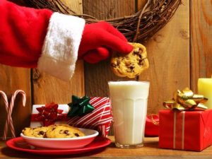 Milk Cookies With Santa Limestone County