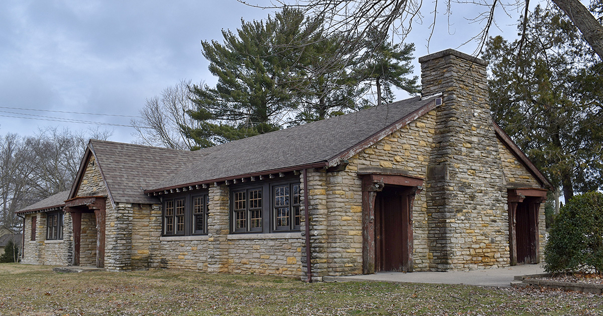 Wilson Park Shelter House, Limestone Country