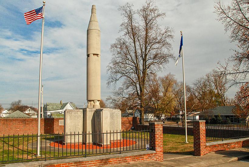 Grissom Monument, Mitchell